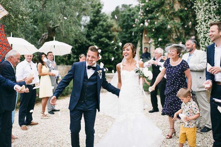 Vicky & Gareth wedding at Poggio Piglia