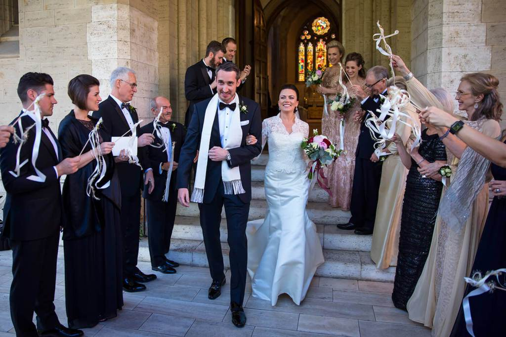 Isabelle & John are now husband and wife