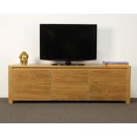 Meuble Tv Teck Recycl. Cheap Meuble Tv Design Teck M Vue ...