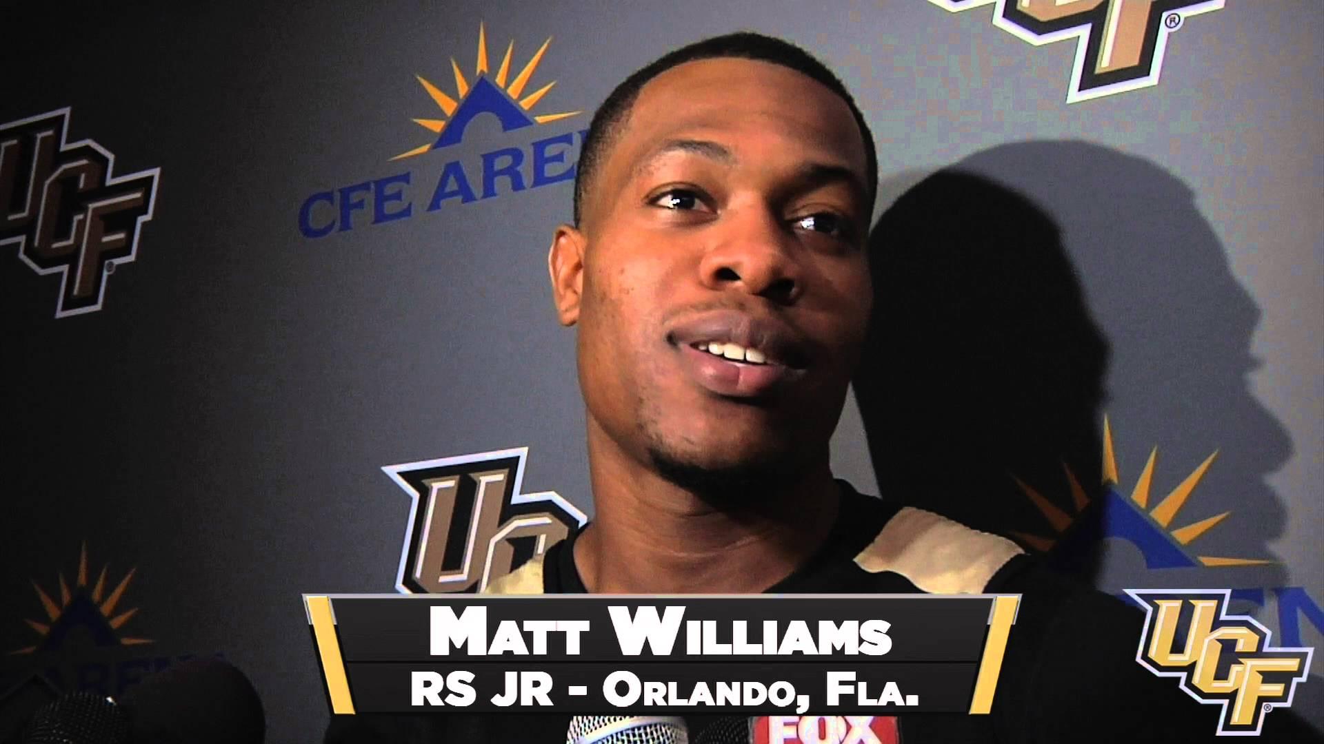 Matt Williams transfer from UCF Johnny Dawkins son es in