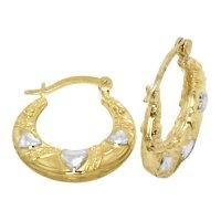 14K Gold Bonded / Gold Over Silver Hi Polish Shrimp Design ...