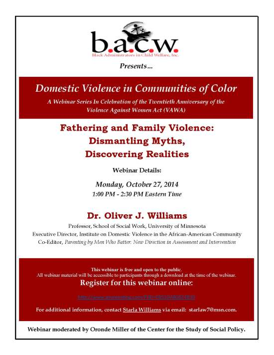 Oct 2014 BACW Webinar Flyer - Fathers and DV