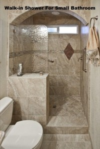 Walk In Shower Designs For Small Bathrooms | Design Ideas
