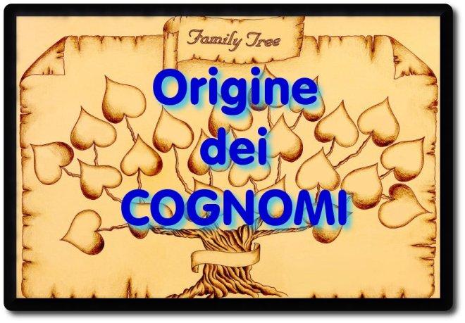 Origine dei cognomi
