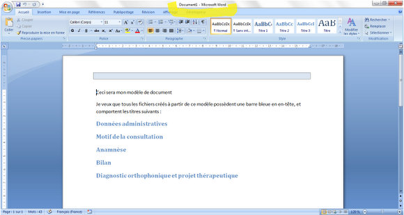 cv achat magasin exemple