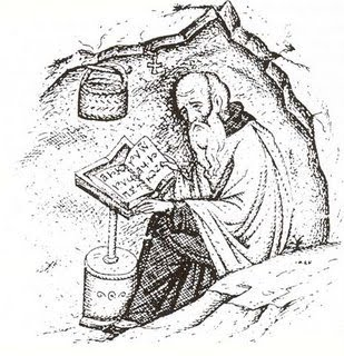 ascetic sketch