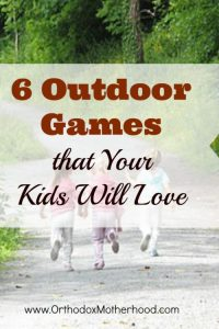 6 Outdoor Games Your Kids Will Love