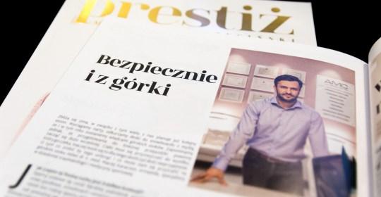 Wywiad z dr Maciejem Karaczunem dla magazynu Prestiż