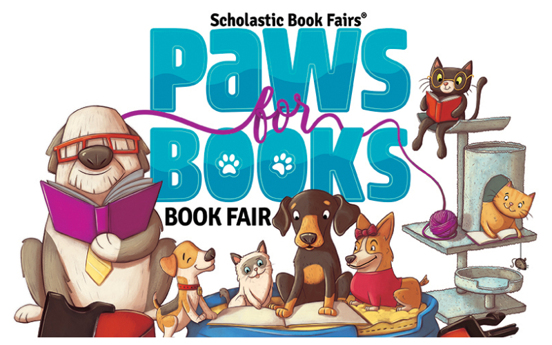 Paws for Books at the Spring Book Fair!! - Glenwood Elementary School