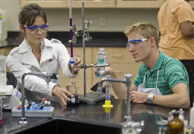 New and Improved Chemistry Labs Open