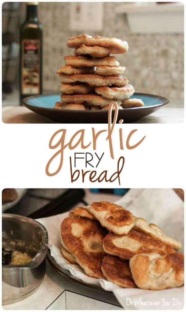 Garlic Fry Bread
