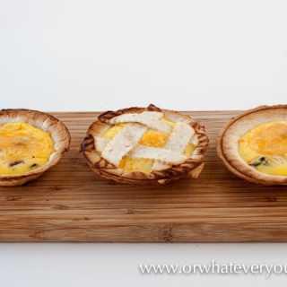 Mini Quiche in your Breville Personal Pie Maker