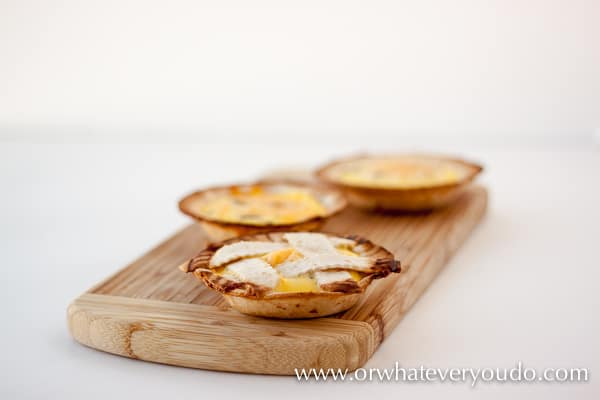 Mini Quiche in your Breville Mini Pie Maker