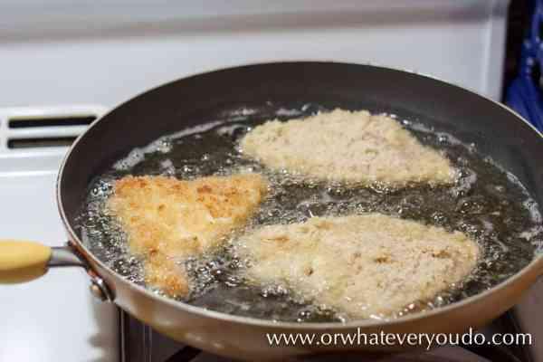 Chicken Parmigiana from OrWhateverYouDo.com
