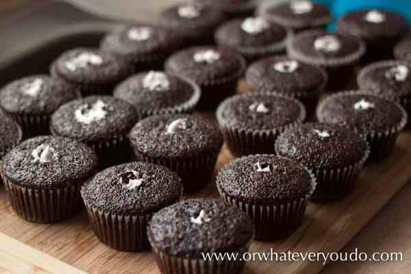 Scratch Hostess Cupcakes from OrWhateverYouDo.com