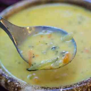 Creamy Zucchini Bisque
