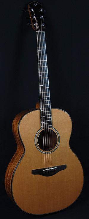 Osborne Handmade Guitar Koa Damselfly