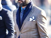 Wearing scarves with suits | Oscar Hunt Tailors
