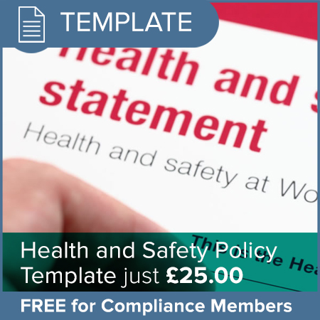 Health and Safety Policy Template - OSGO - The podiatry membership