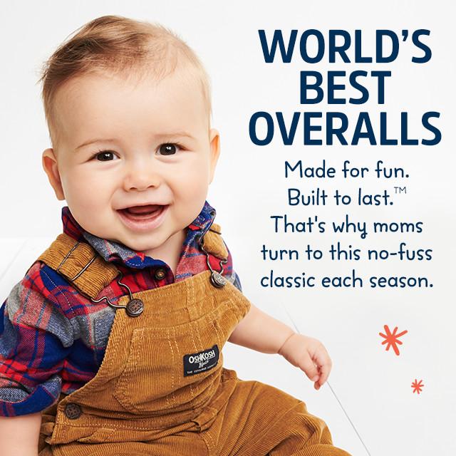 Overalls for Baby  Toddler Free Shipping OshKosh
