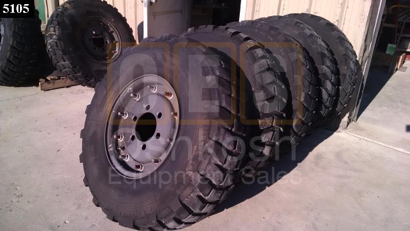 25 Ton M35A3 Wheels and Tires (Set of 7) - Oshkosh Equipment