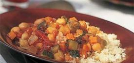 Moroccan Stew with Vegetables and Chickpeas