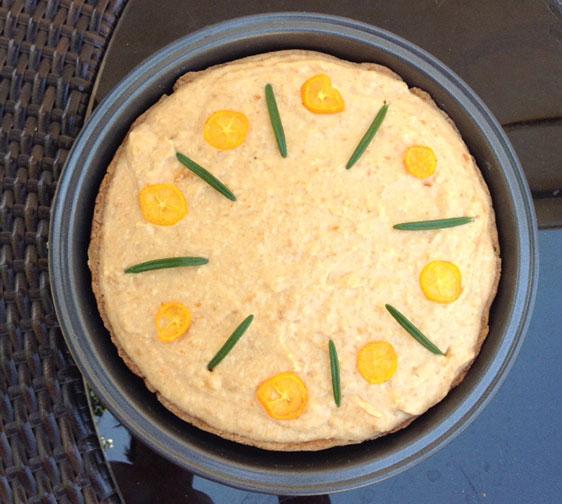 Kumquat Cheesecake