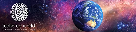 wake up world logo