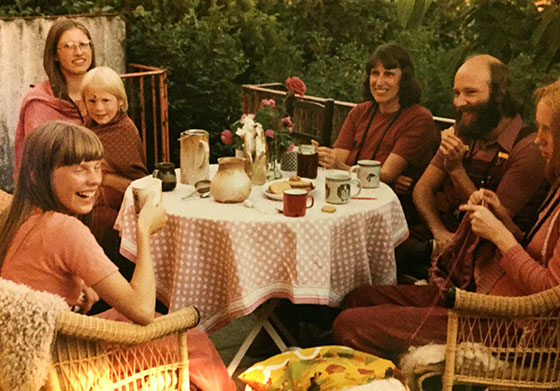 Vinit and family in 1981