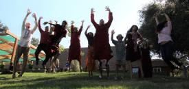 A joyous celebration of love, music, and meditation