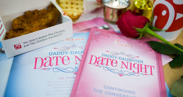 Chickfila Daddy-Daughter Date Night » Meredith Jamison Photography