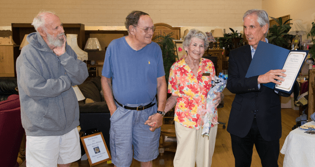 O'side Couple Celebrates Sixty Years of Marriage