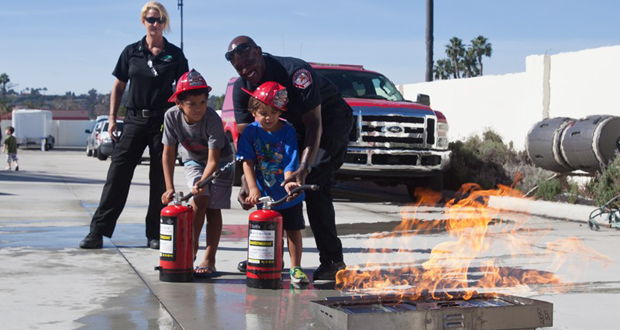 Oceanside Fire Department Open House, October 22