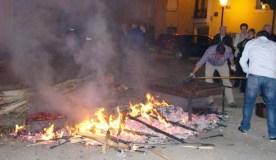 A asociación O Mosteiro prepara o tradicional magosto en Vilanova (O Barco)