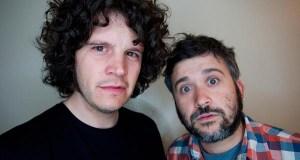 Leilía e os humoristas Marcos Pereiro e Xosé A. Touriñán, Premios Rebulir 2016