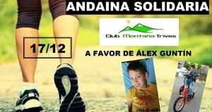 Andaina solidaria o 17 de decembro por terras trivesas
