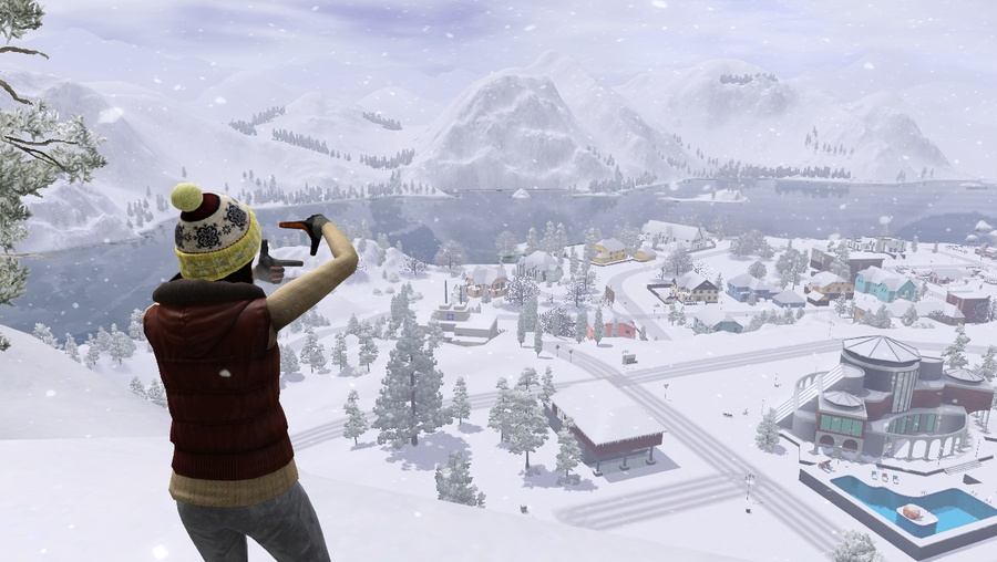Mystic Falls Wallpaper O Sim Br Net The Sims The Sims 2 The Sims 3 The