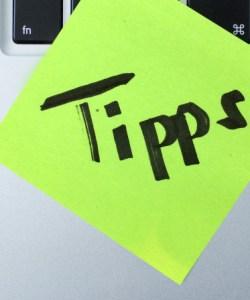 Tipps Blogger Titel