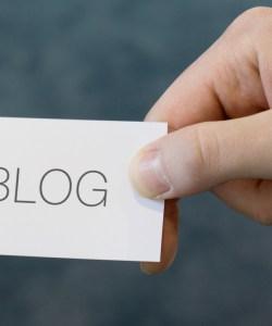 Blog als Visitenkarte 5