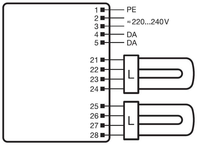 osram dali wiring diagram
