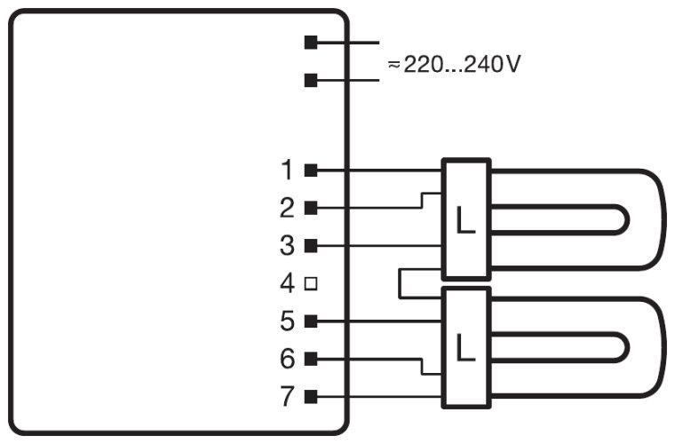 osram quicktronic wiring diagram