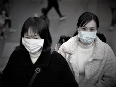 epa08151015 People wear face masks in Taipei, Taiwan, 22 January 2020. On 22 January, Taiwan stopped sending tour groups to, or receiving tour groups from Wuhan, China, over the cornonavirus outbreak. Taiwan's China Airlines will stop flying to Wuhan from 10 to 27 Februrary over the epidemic. China has confirmed 440 cases of Wuhan pneumonia with nine deaths, according to China's National Health Commission. The SARS-like virus, called 2019-nCoV, was detected at a seafood market in Wuhan, China, and can be passed between humans. So far it has spread to 13 citiies and provinces in China as well as Thailand, South Korea, Japan, Taiwan and the United States.  EPA/DAVID CHANG