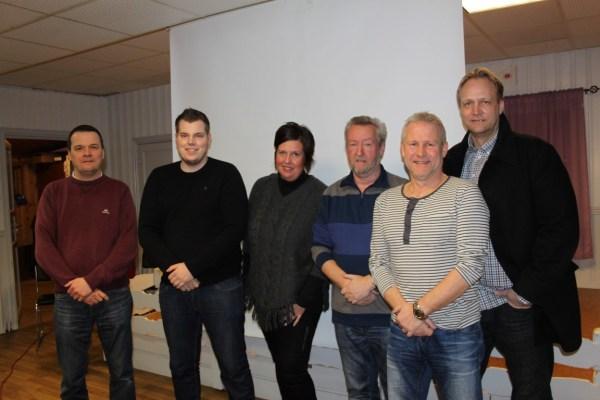 Jørn, Steinar, May-Britt, Tom, Fred og Espen har styrt Østsiden i 2014