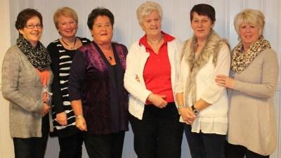 Styret i jubileumsåret Marit Tangen, Turid Oskarsen, Solbjørg Andersen, May Gjertsen, Lise Tolfsen, Sidsel Jensen