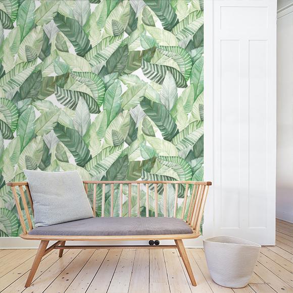 Ossibus Des Papiers Peints Vegetalises Pour Une Ambiance Nature Chic