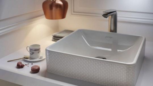 vasque carré