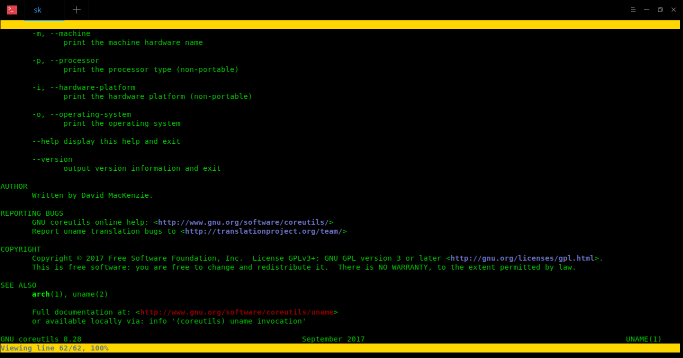Pinfo – A CLI Program To Read Info And Man Pages In Color