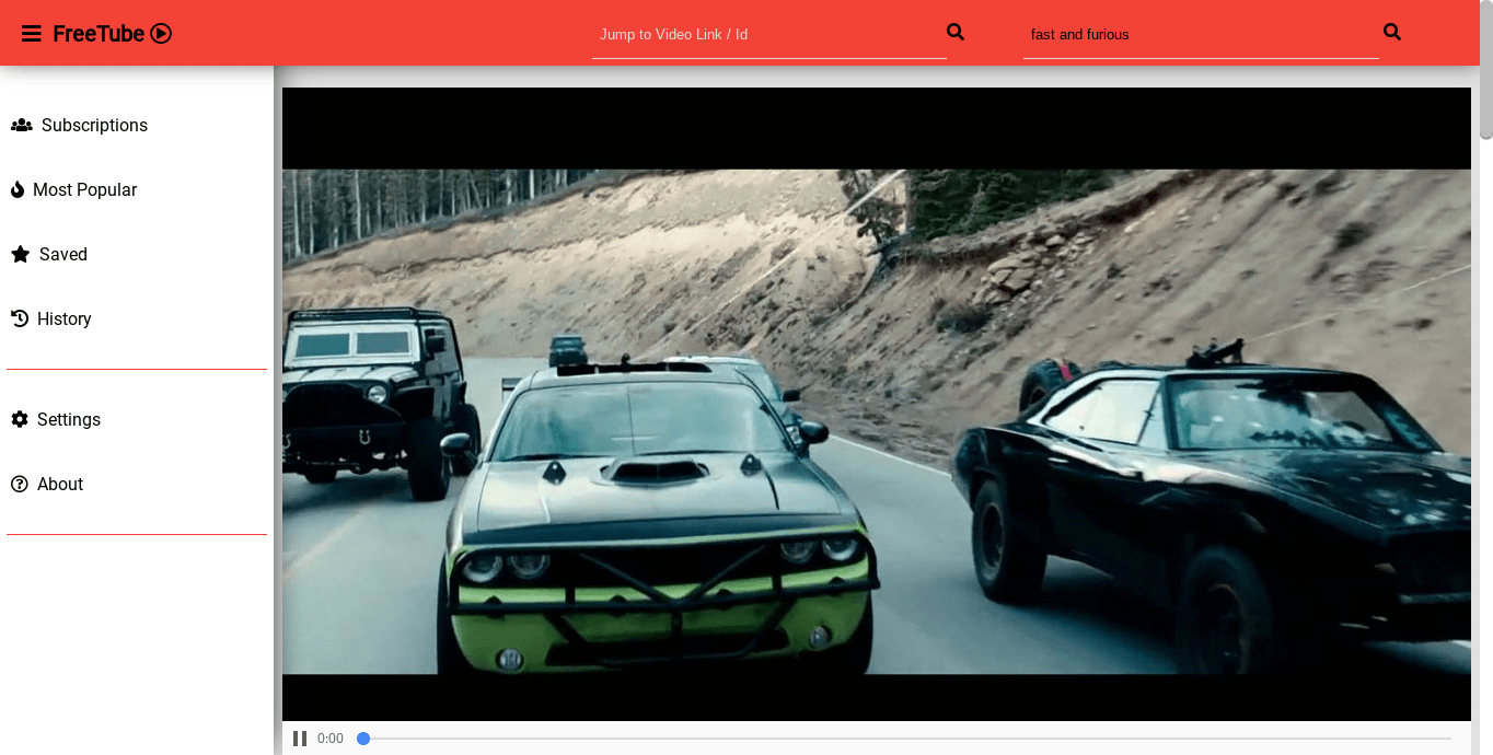 FreeTube – An Open Source Desktop YouTube Player For Privacy-minded People