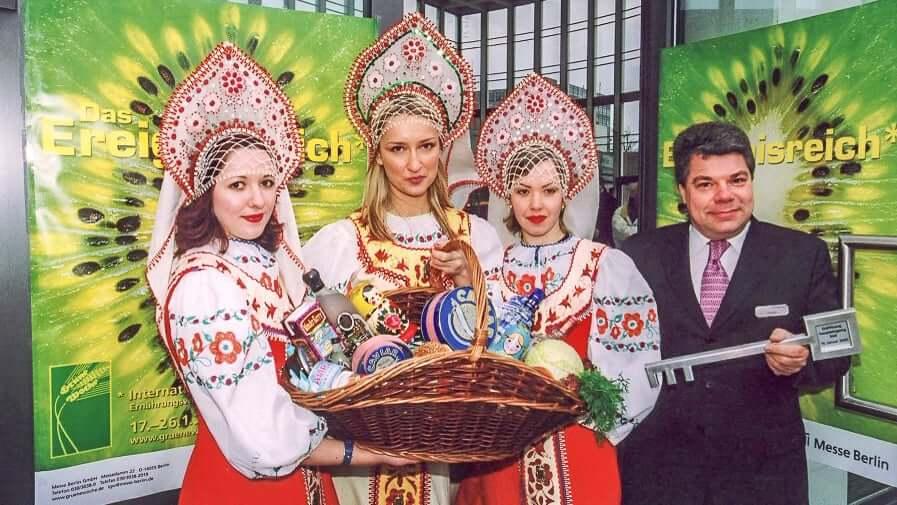Grüne Woche in Berlin 2003 Russland