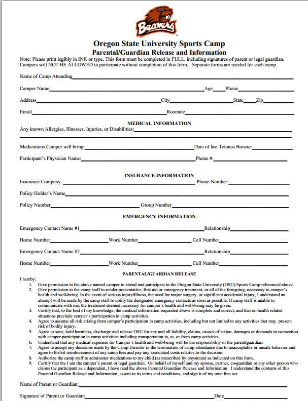 Medical Release Of Information Form Patient Information Medical - dental records release form